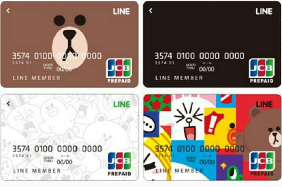 LINE Pay カードのデザイン